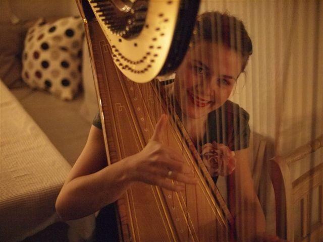 Harfenkonzert mit Helena Bernöcker am 30. Juni 2013