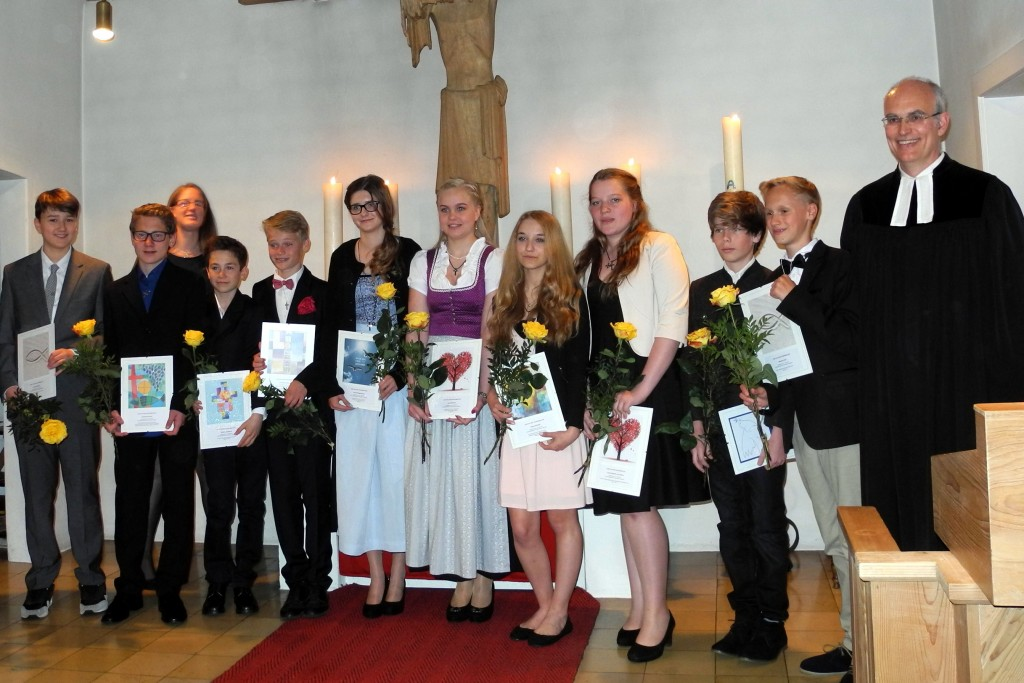 Konfirmation Gmund 2015