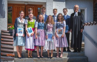 Konfirmation 2019 in Gmund